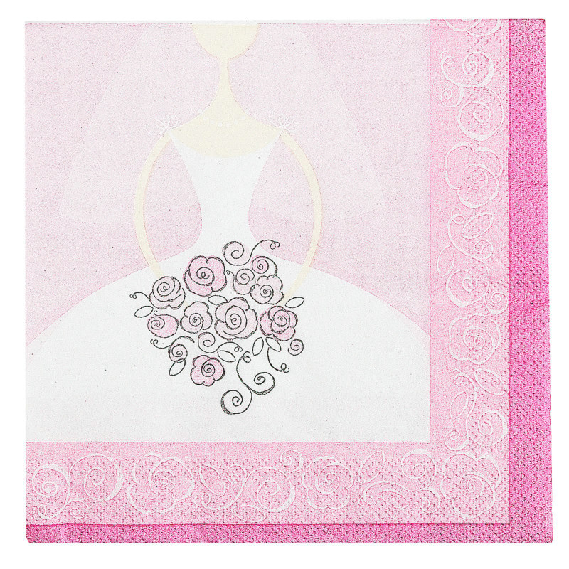 Bride to Be Lunch Napkins (16 count)