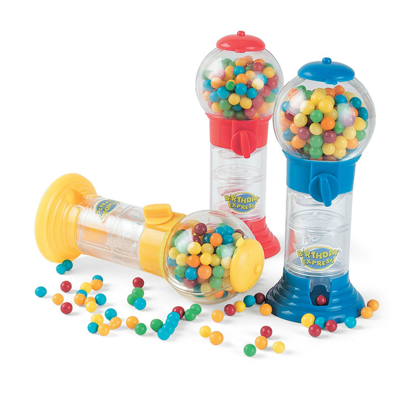 Mini Candy Gumball Machine (1 count)