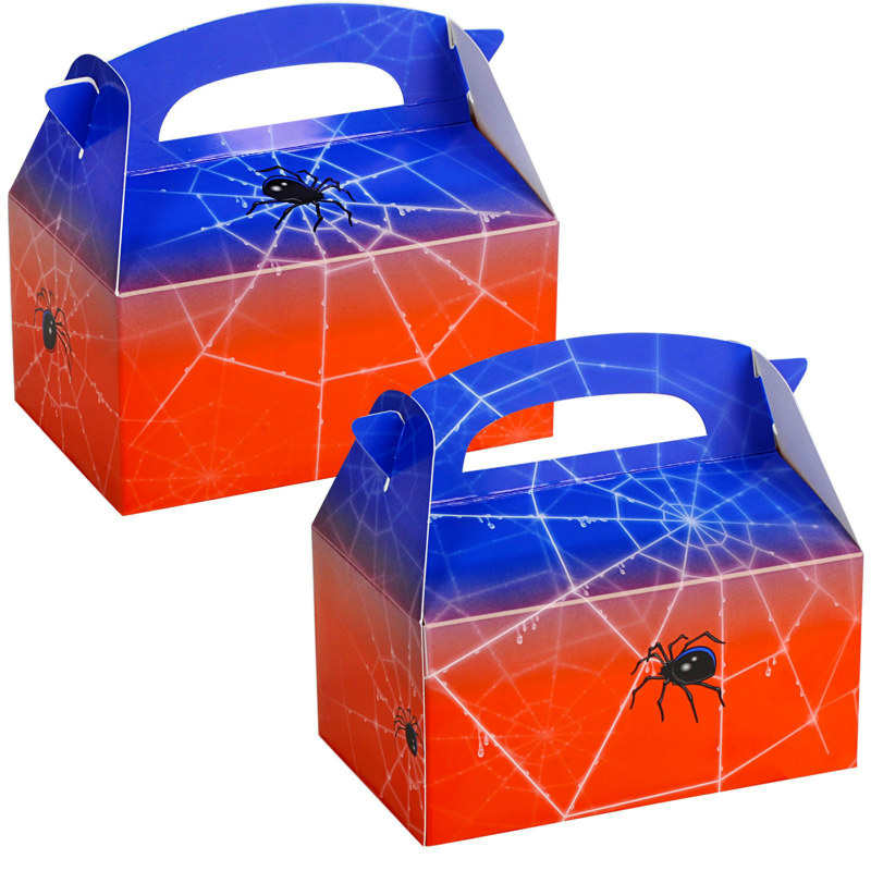 Spider Empty Favor Boxes (4 count)