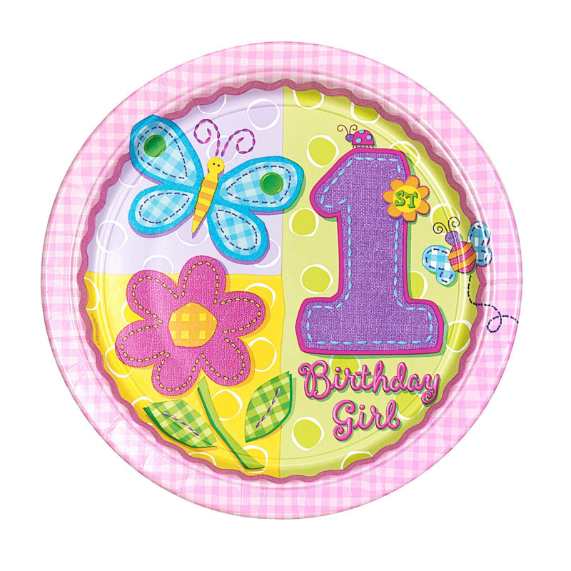 Hugs and Stitches Dinner Plates (8 count)