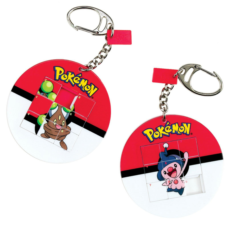 Pokemon Slide Puzzle Keychain (1 count)