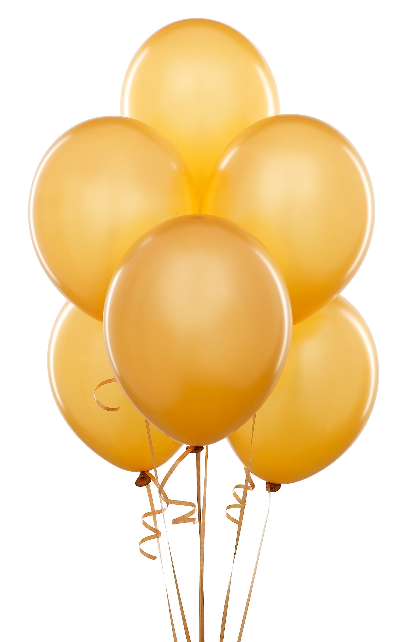 Gold Latex Balloons (6 count)