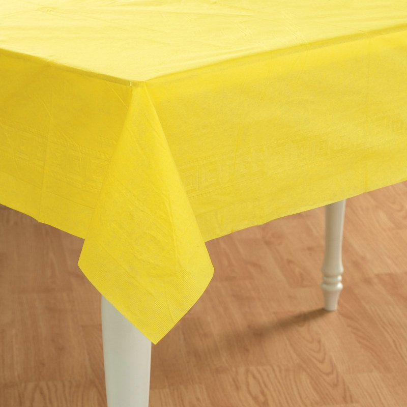 Lemon Yellow Tablecover