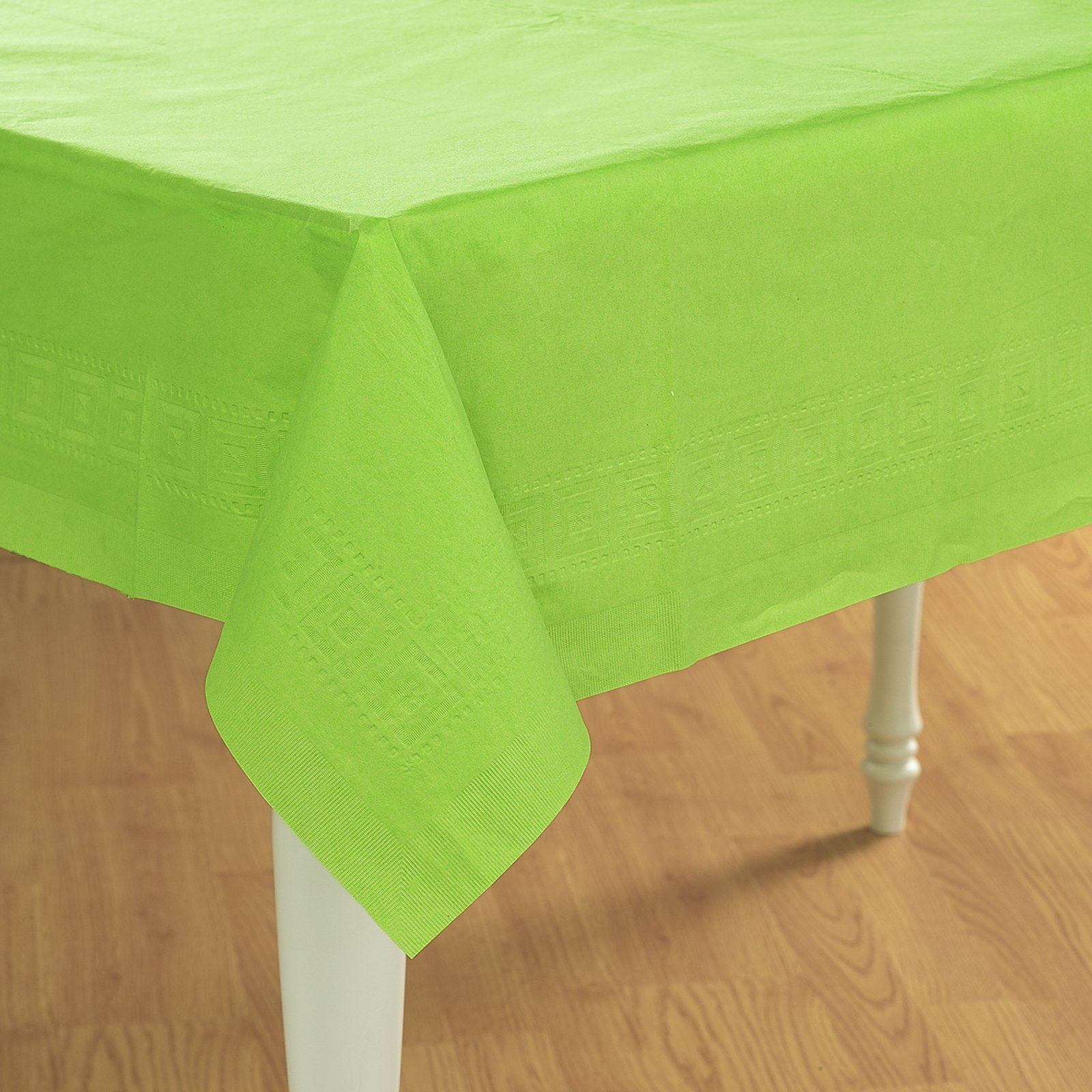 Fresh Lime (Lime Green) Paper Tablecover