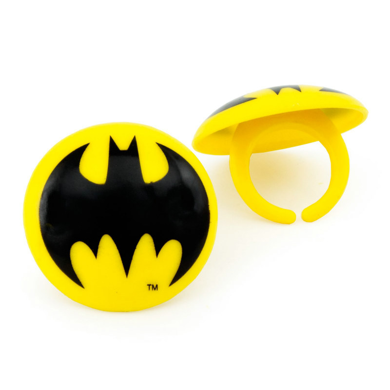 Batman Rings (8 count)