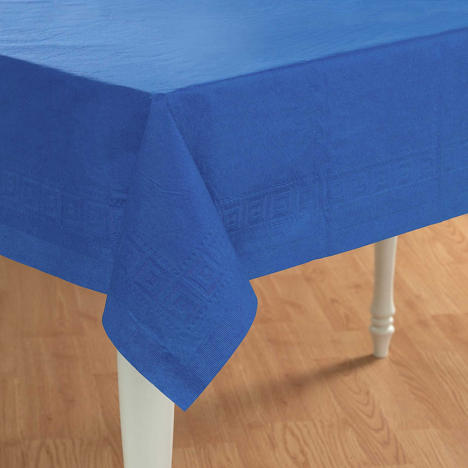 True Blue (Blue) Paper Tablecover