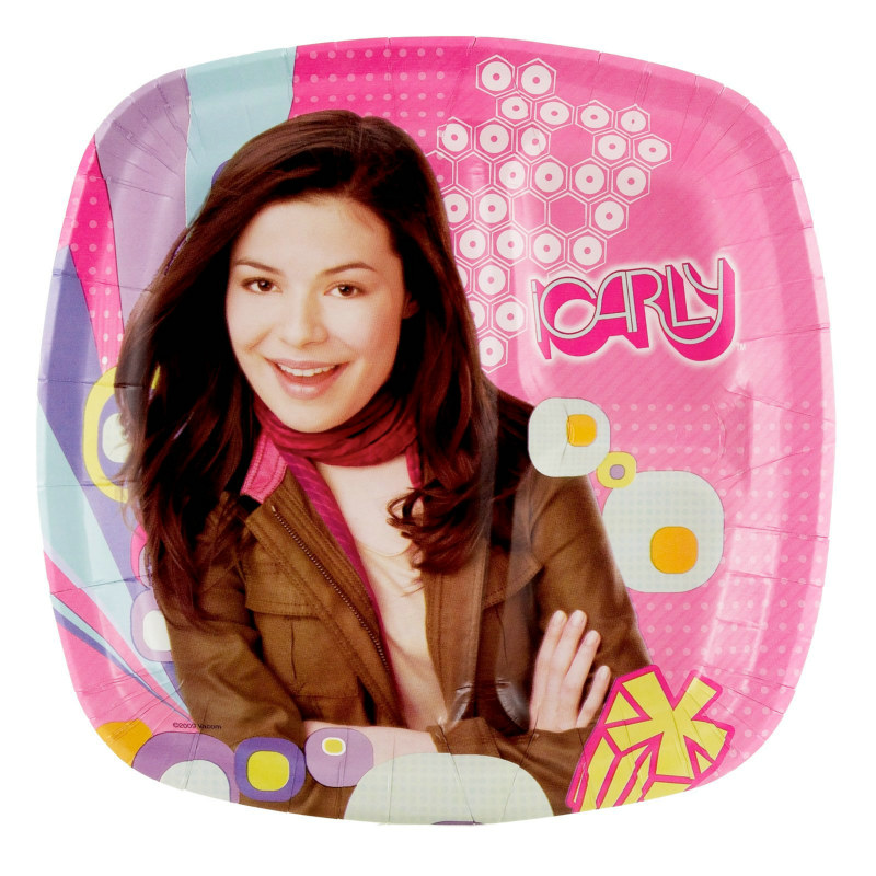 iCarly Pocket Dinner Plates (8 count)