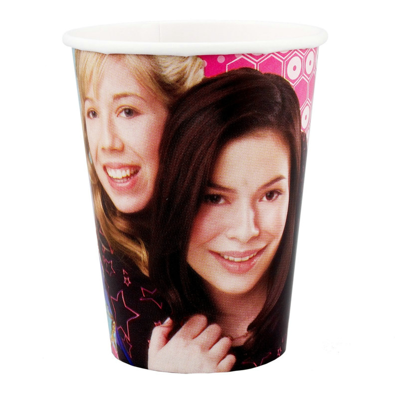 iCarly 9 oz. Paper Cups (8 count)