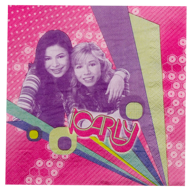 iCarly Lunch Napkins (16 count)