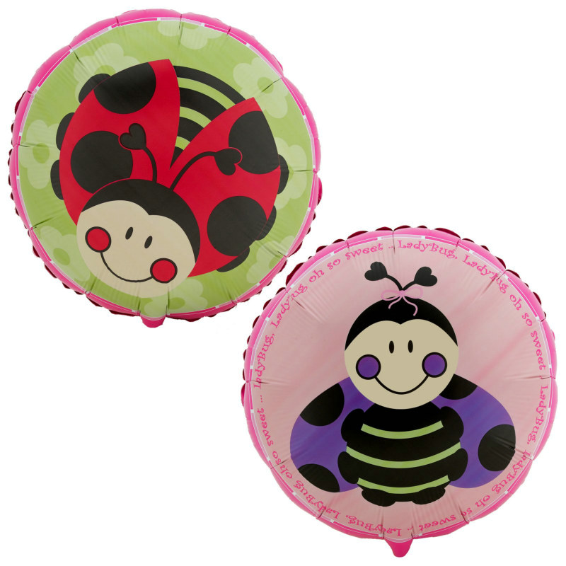 Ladybugs: Oh So Sweet Foil Balloon