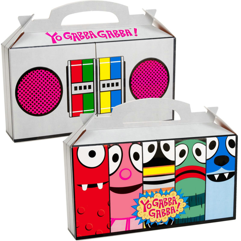 Yo Gabba Gabba! Empty Favor Boxes