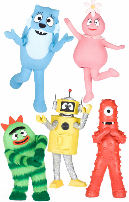 Yo Gabba Gabba! Wall Decorations