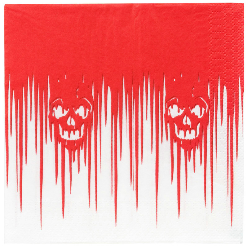 Bloody Banquet Lunch Napkins (16 count)