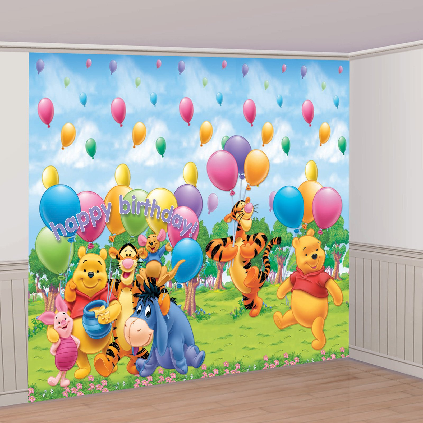 8' Tigger and Pooh Giant Decorating Set