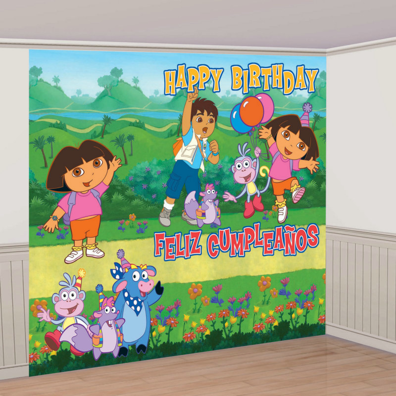 8' Dora Giant Decorating Set