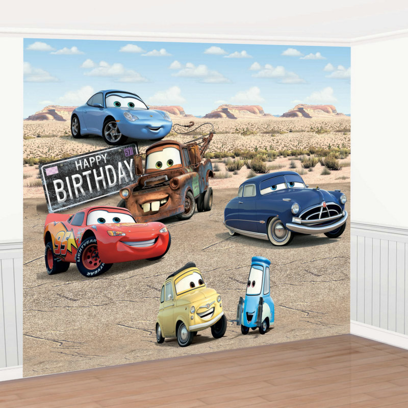 Disney's Cars Giant Decorating Set