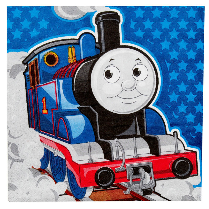 Thomas the Tank Engine Lunch Napkins (16 count)