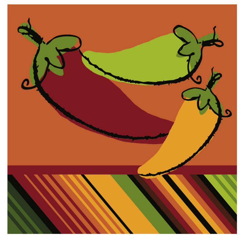 Fiesta Peppers Lunch Napkins (16 count)