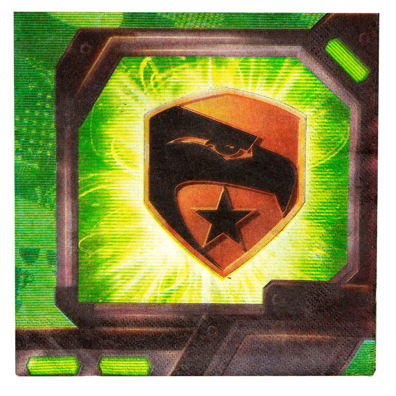 GI JOE Rise of the Cobra Lunch Napkins (16 count)