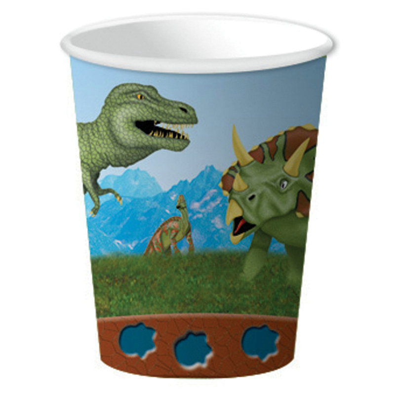 Old Dinosaur 9 oz. Paper Cups (8 count)