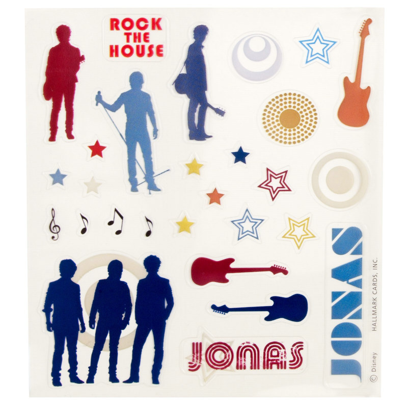 JONAS Cool Clings (2 sheets)