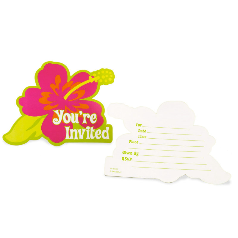 Aloha Invitations (8 count)