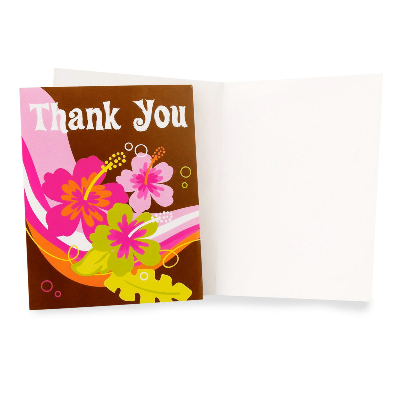 Aloha Thank You Cards (8 count)