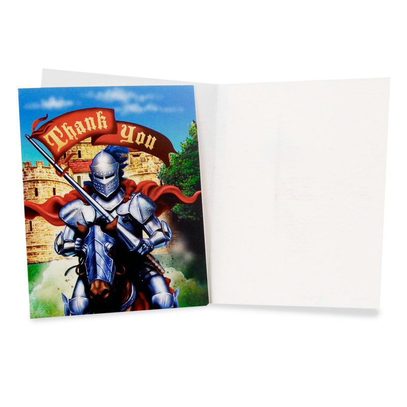 Knight Thank You Cards (8 count)