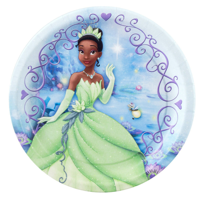 Princess and the Frog Dessert Plates (8 count)