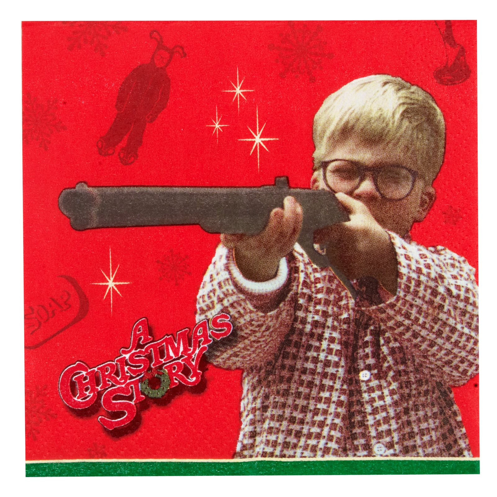 A Christmas Story Beverage Napkins (16 count)