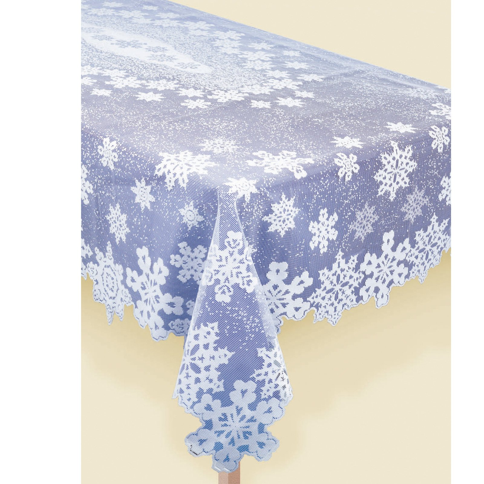 Snowflake Lace Tablecover