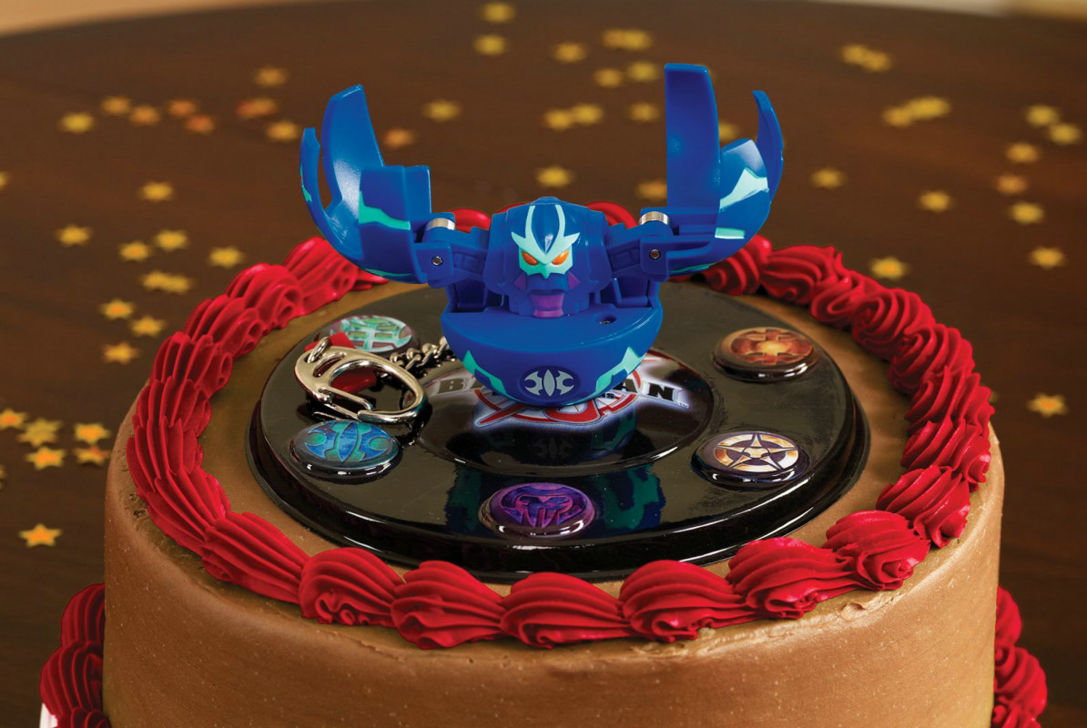 Bakugan Cake Set