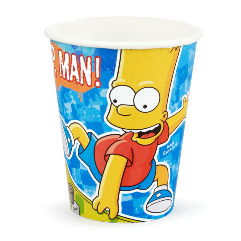 Simpsons 9 oz. Paper Cups (8 count)