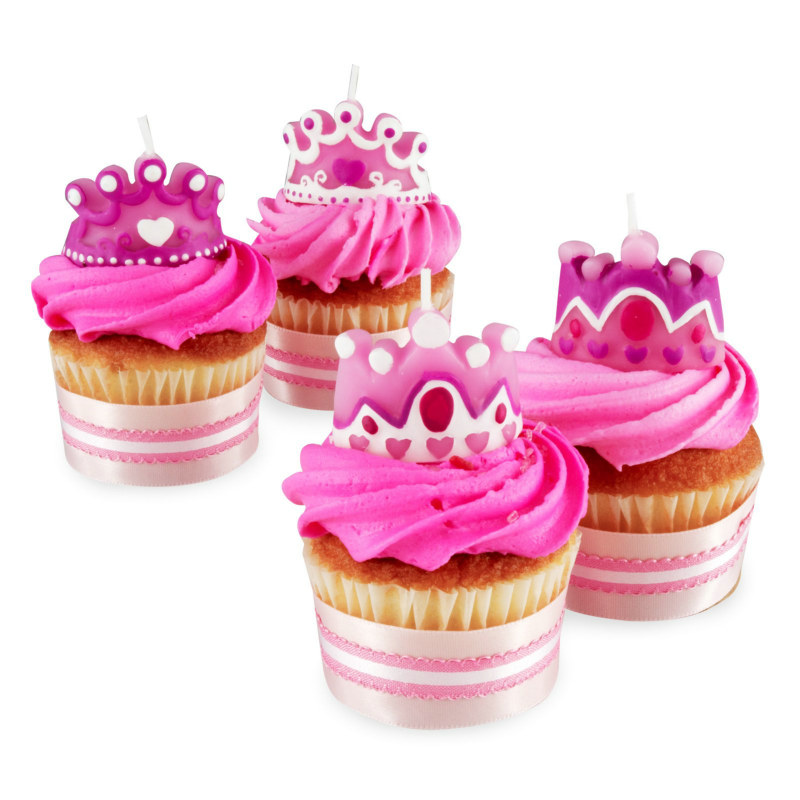 Princess Candles (4 count)