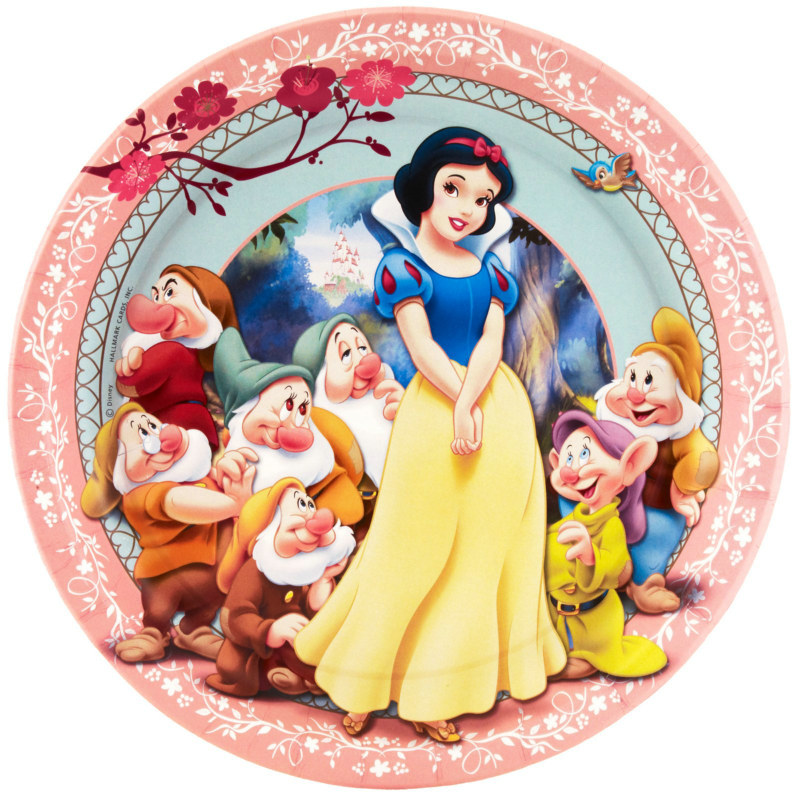 Snow White Dinner Plates (8 count)