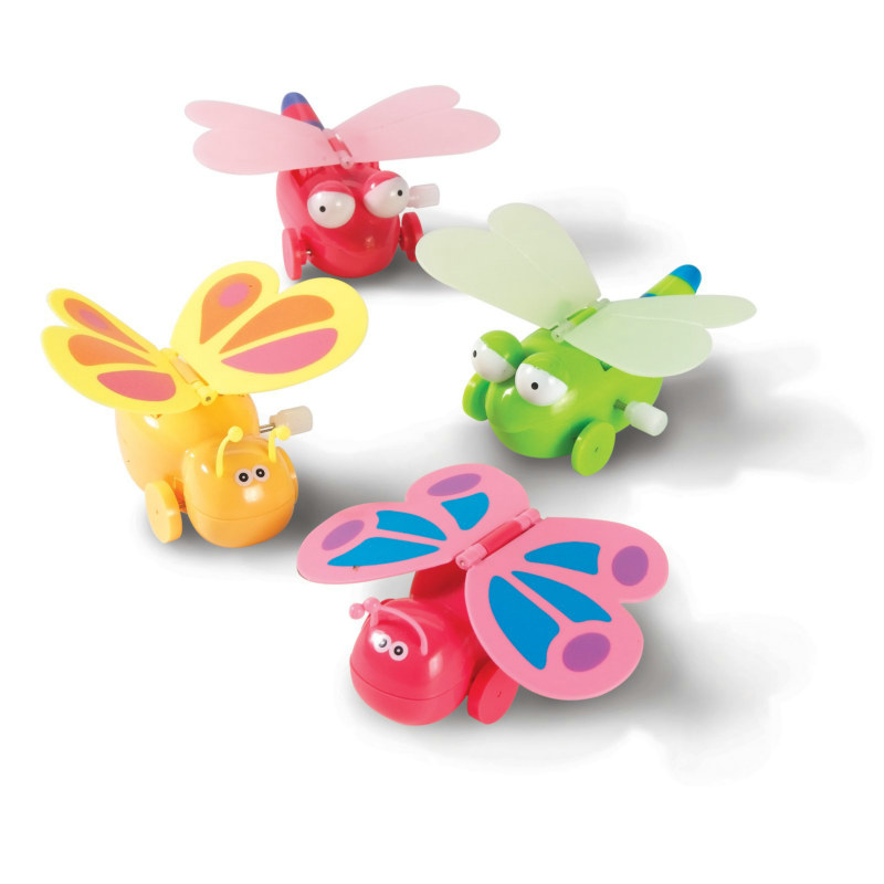 Wind Up Dragonfly Toys Assorted (8 count)