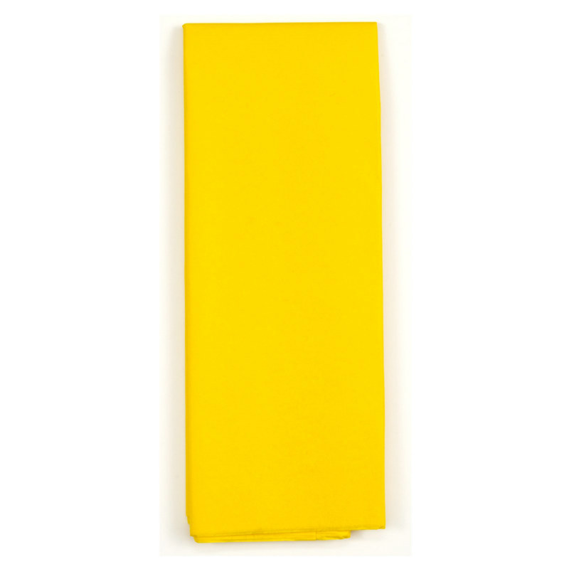 Yellow Tissue Paper (8 sheets)