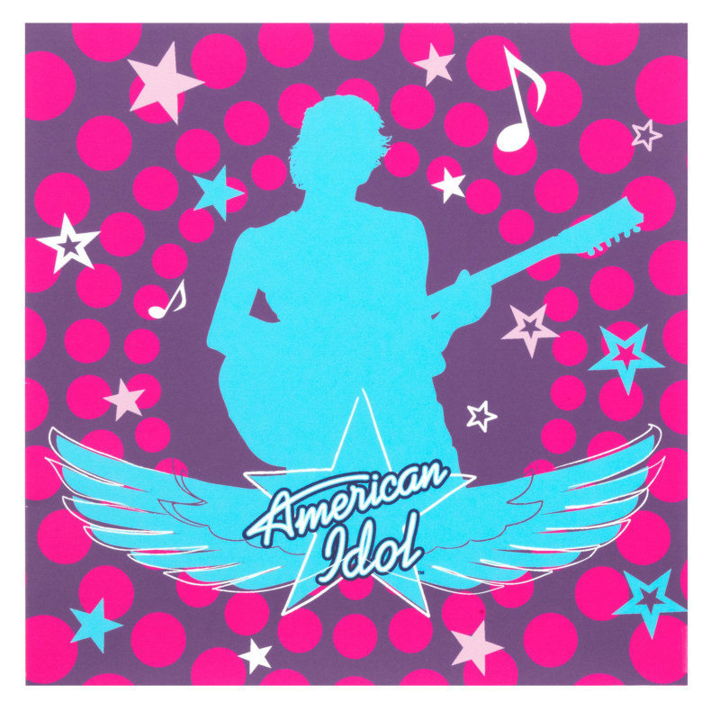 American Idol 3-D Lunch Napkins (16 count)