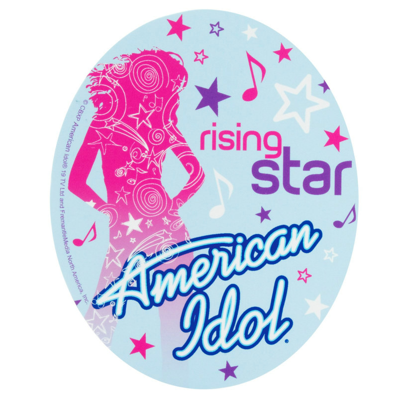 American Idol 3-D Sticker Sheets (4 count)