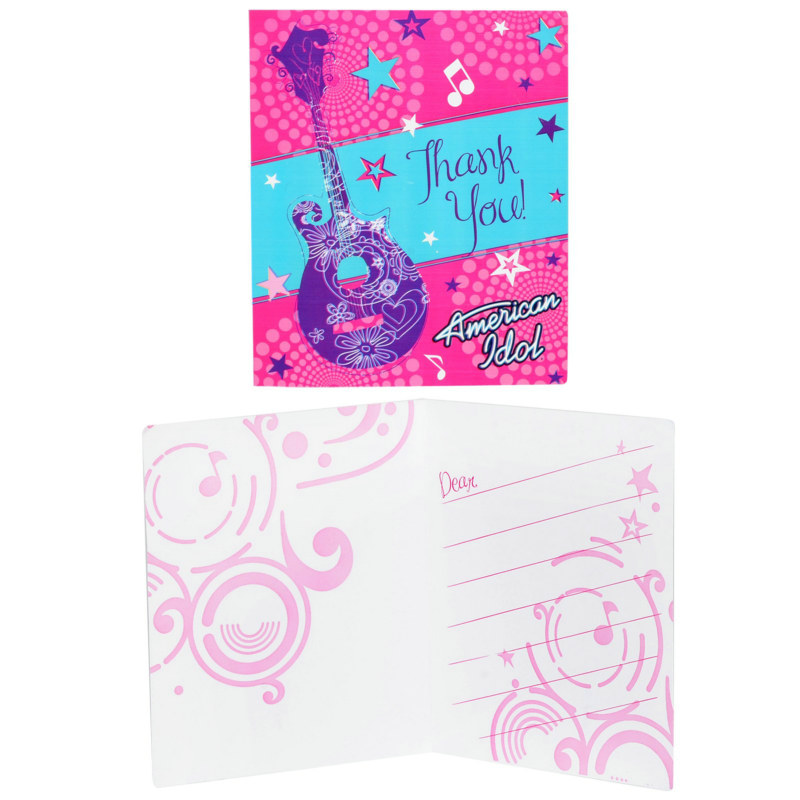 American Idol 3-D Thank You Cards (8 count)
