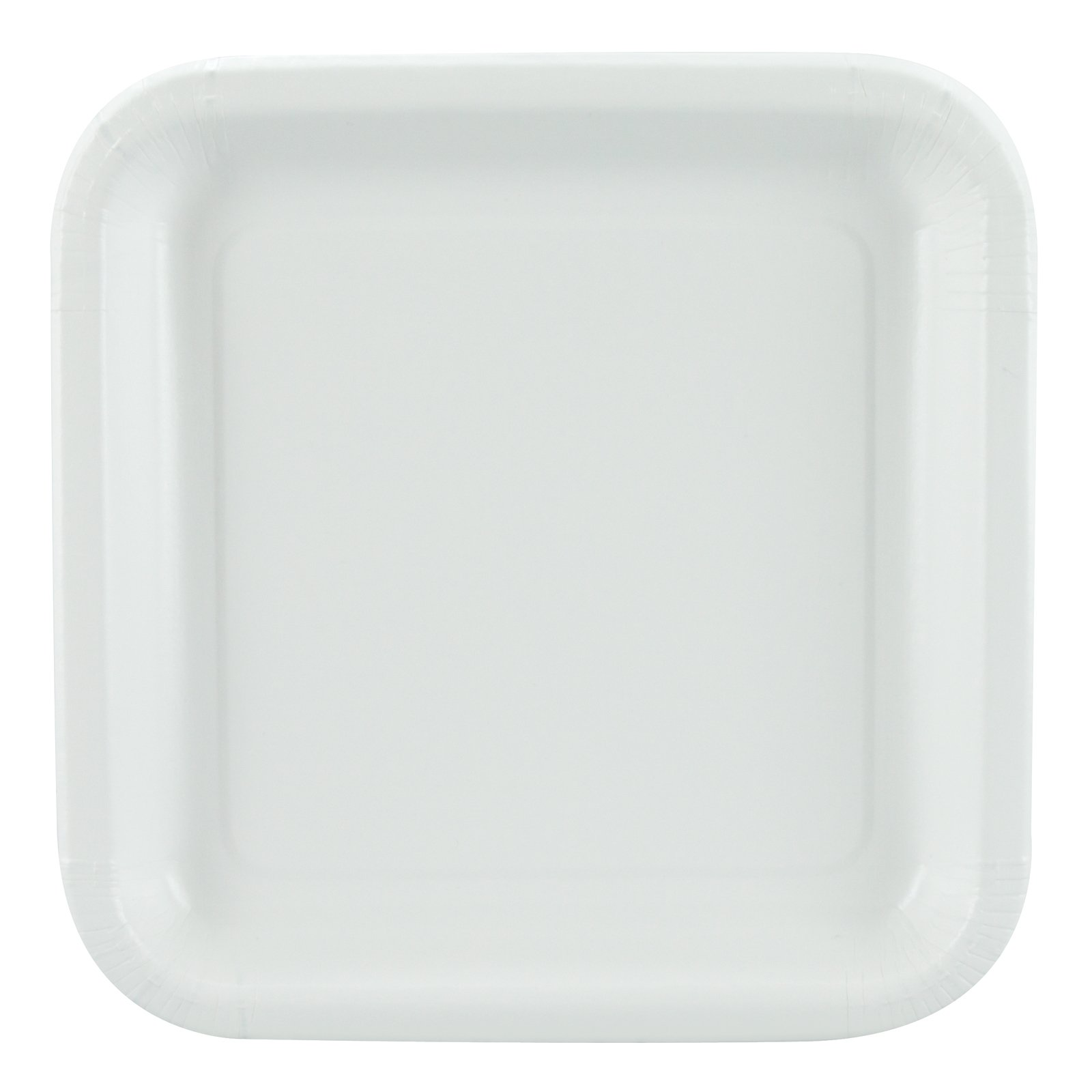 White Square Dessert Plates (12 count)