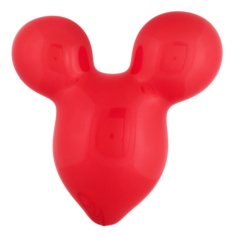 "15"" Mouse Ears Red Latex Balloons (6 count)"