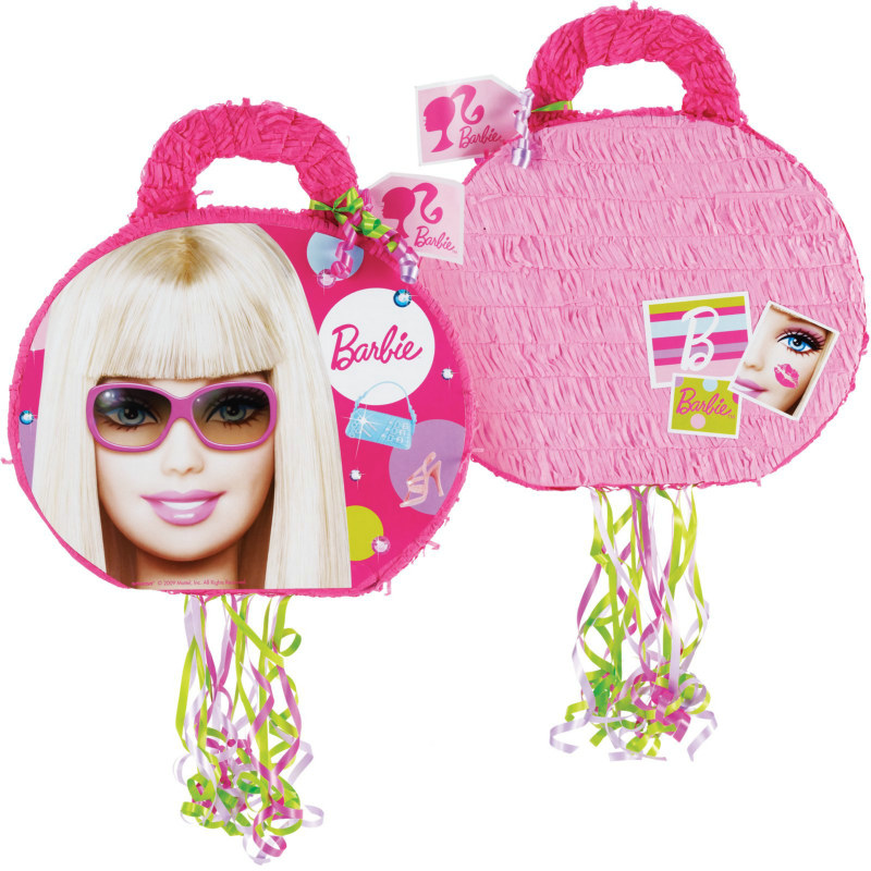 "Barbie All Doll'd Up 19"" Pull-String Pinata"