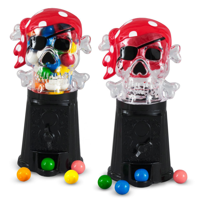 Pirate Bubble Gumball Machine (1 count)