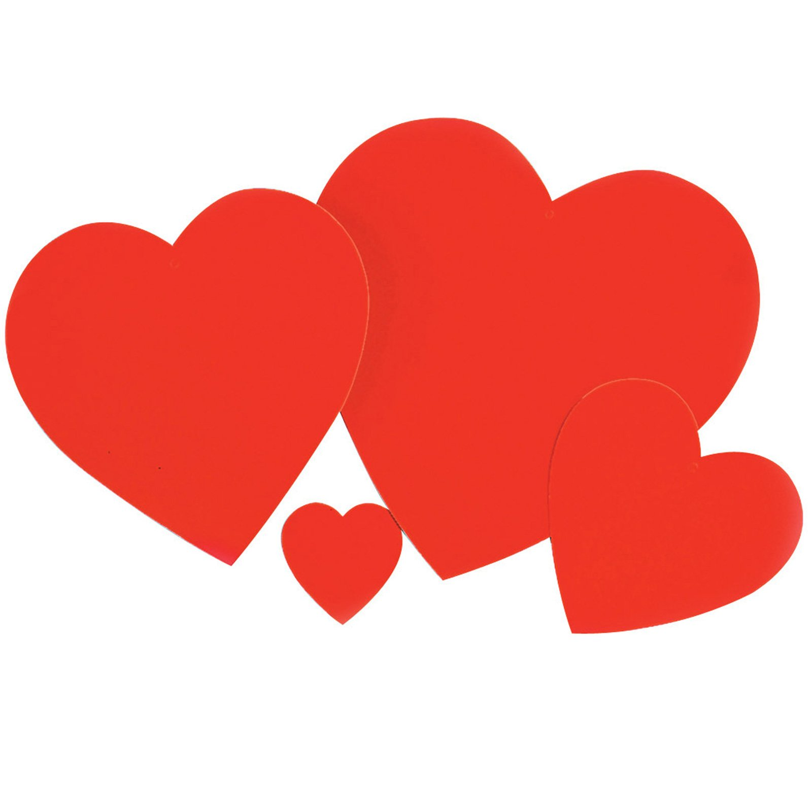 Red Heart Cutouts (9 count)
