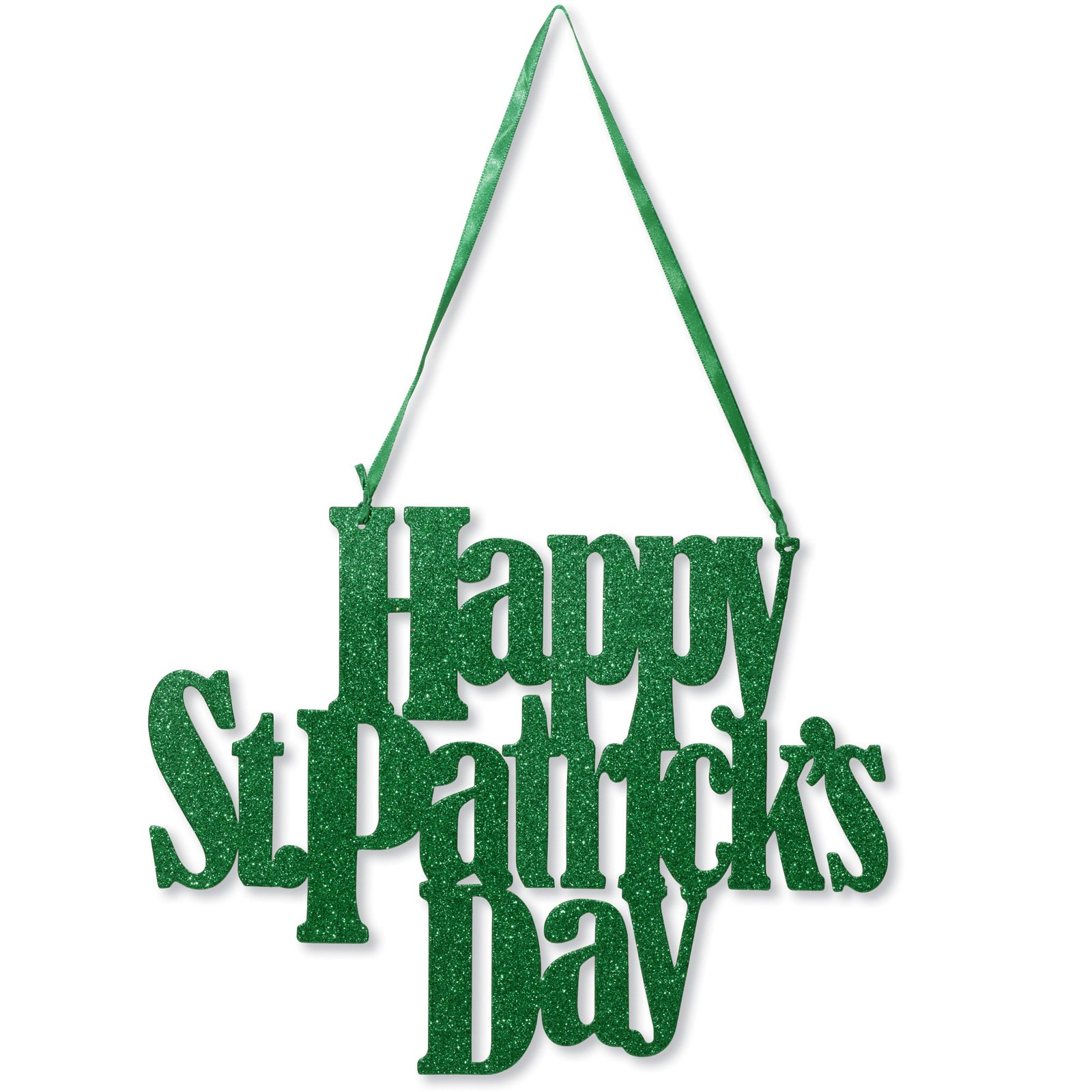 Happy St. Pat's Day Glitter Sign