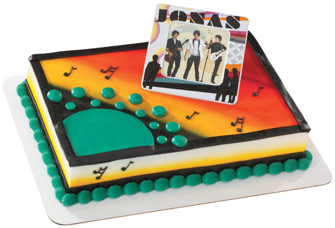 JONAS Locker Frame Cake Topper