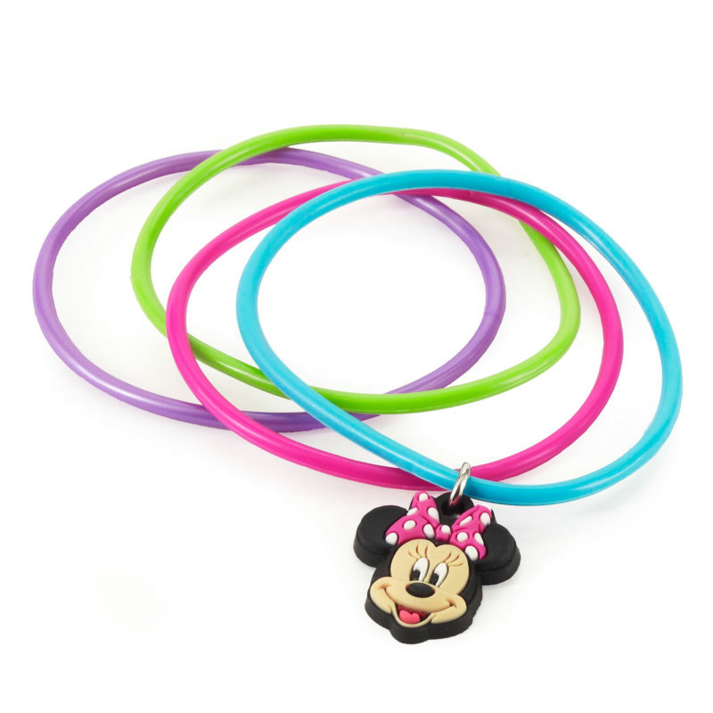 Minnie Mouse Assorted Bracelets (8 count)