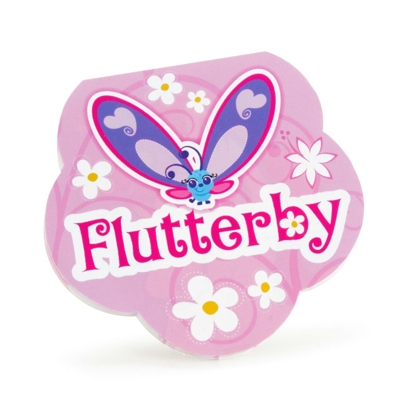 Flutterby Butterflies Notepads (8 count)