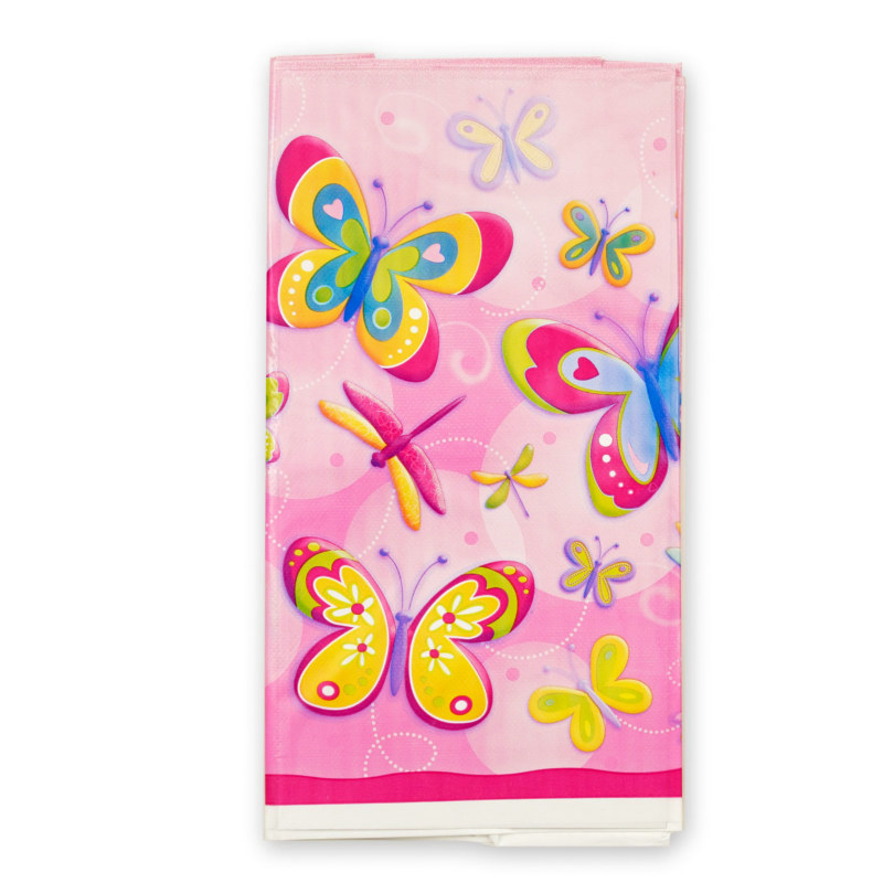 Butterflies and Dragonflies Plastic Tablecover
